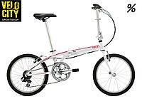 TERN Link B7 белый складной велосипед