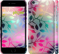 """Чехол на iPhone 6 Листья """"2235c-45"""""""