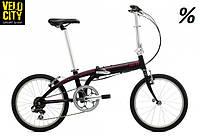 """Складной велосипед 20"""" Tern Link B7 черный"""
