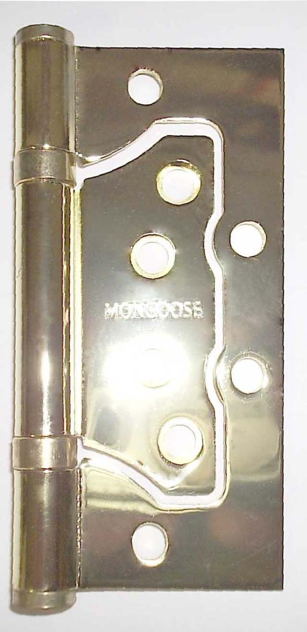 Петля бабочка Mongoose 100*75*2.5 PB