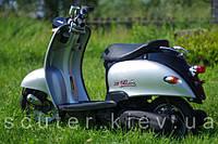 Скутер Yamaha Vino (серый с чёрным) 49,9 см.куб