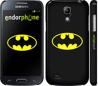 "Чехол на Samsung Galaxy S4 mini Бетмен логотип ""3201c-32"""