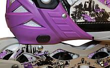 Розсувні роликові ковзани Z-098V, фото 2