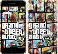 """Чехол на iPhone 6 GTA 5. Collage """"630c-45"""""""
