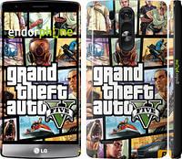 "Чехол на LG G3s D724 GTA 5. Collage ""630c-93"""