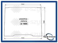 Стекло экскаватор-погрузчик Komatsu WB91R WB93R WB97R WB97S WB146PS WB156PS - передняя ламинированная
