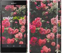 "Чехол на Sony Xperia Z C6602 Куст с розами ""2729c-40"""