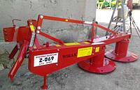 Навесная косилка к трактору - Wirax Z-069 1,35 м, фото 1