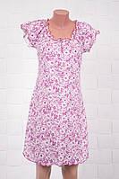 Яркая хлопковая ночная сорочка с цветочным принтом ТМ Роксана