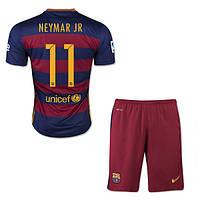 Футбольная форма Барселона Неймар 2015-2016 домашняя