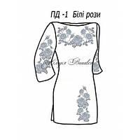 Плаття для дівчинки №1 Білі рози