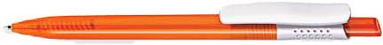 Ручка пластиковая VIVA PENS Tibi classic оранжевая