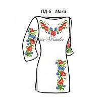 Плаття для дівчинки №5 Маки