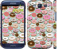 """Чехол на Samsung Galaxy S3 i9300 Пончики в глазури """"2876c-11"""""""
