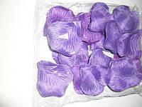 Искусственные фиолетовые лепестки роз (600 шт.)