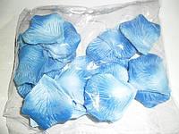 Искусственные голубые лепестки роз (600 шт.)