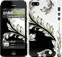 """Чехол на iPhone 5s White and black 1 """"2805c-21"""""""