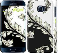 "Чехол на Samsung Galaxy S6 G920 White and black 1 ""2805c-80"""