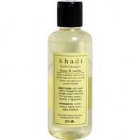 Шампунь Кхади Травяной Мед И Ваниль (Khadi Herbal Shampoo Honey Vanilla) 210 Мл