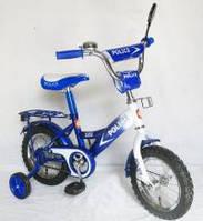 Велосипед 2-х колес 12 151211 1шт со звонком, зеркалом