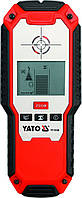 Детектор цифровой для скрытых конструкций и проводки 3 в 1 (дерева/напряжения/метала) YATO YT-73130
