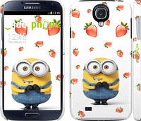 "Чехол на Samsung Galaxy S4 i9500 Миньон с клубникой ""3369c-13"""