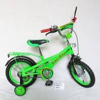 Велосипед 2-х колес 14 151413 1шт со звонком, зеркалом