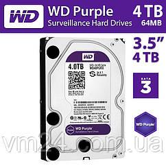 Жесткий диск (HDD) 4TB Western Digital Purple WD40PURZ