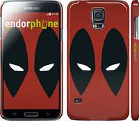 "Чехол на Samsung Galaxy S5 Duos SM G900FD Deadpool v2 ""3530c-62"""