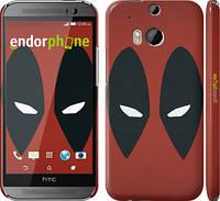"""Чехол на HTC One M8 dual sim Deadpool v2 """"3530c-55"""""""