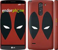 "Чехол на LG G3 Stylus D690 Deadpool v2 ""3530c-89"""