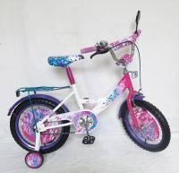 Велосипед 2-х колес 16 101615 1штСпринтерчерно-красный,со звонком,зеркалом,сиденье PU