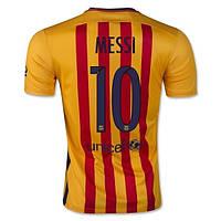 Футбольная форма Барселона Месси 2015-2016 выездная, фото 1