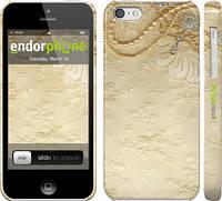 """Чехол на iPhone 5c Кружевной орнамент """"2160c-23"""""""