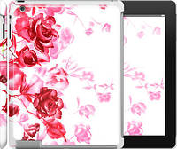 "Чехол на iPad 2/3/4 Нарисованные розы ""724c-25"""