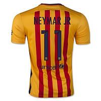 Футбольная форма Барселона Неймар 2015-2016 выездная