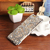 Чехол-накладка Radiating Hollow Plastic Fandas Silver Cover для iphone 6S plus плюс