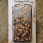 Чехол-накладка Radiating Hollow Plastic Fandas Silver Cover для iphone 6S plus плюс, фото 2