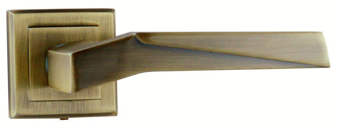 Ручка Mongoose на квадратной розетке Эллада античная бронза