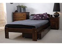 Кровать односпальная из массива дерева ( сосны )