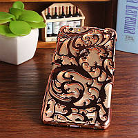 Чехол-накладка Radiating Hollow Plastic Fandas Rose Gold Cover для iphone 5/5S, Винница