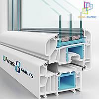 Окна WDS 82мм - окна ВДС 8 серия, фото 1