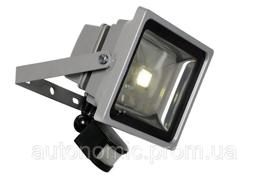 LED прожектор Ledex 20W 6500k с датчиком движения (PD737)