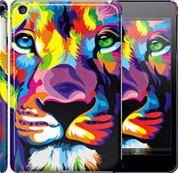 "Чехол на iPad mini 3 Разноцветный лев ""2713c-54"""
