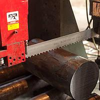 Порезка металла на ленточнопильных станках