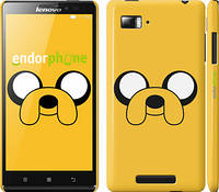 "Чехол на Lenovo Vibe Z K910 Adventure Time. Jake ""1121c-85"""
