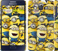 "Чехол на Samsung Galaxy A3 A300H Миньоны 8 ""860c-72"""