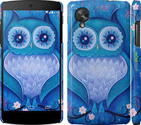 "Чехол на LG Nexus 5 Сова 4 ""2820c-57"""