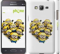 "Чехол на Samsung Galaxy Grand Prime G530H Миньоны 4 ""301c-74"""