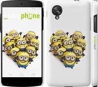 """Чехол на LG Nexus 5 Миньоны 4 """"301c-57"""""""